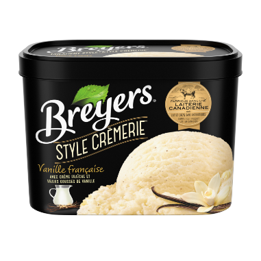 Breyers Creamery Style French Vanilla Ice Cream 1.66 LT