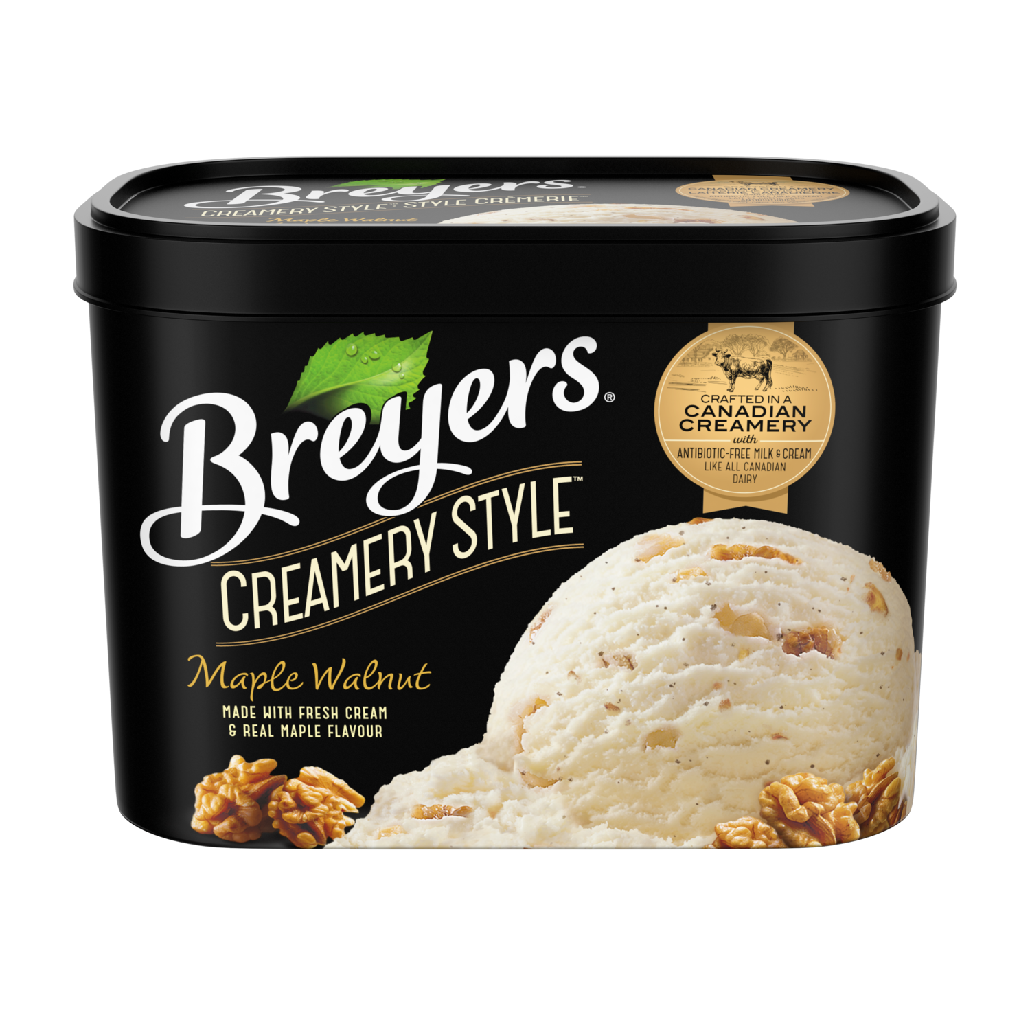 Breyers Creamery Style Maple Walnut 1.66 L front of pack