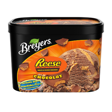 Breyers  Reese Chocolate Frozen Dessert 1.66 LT