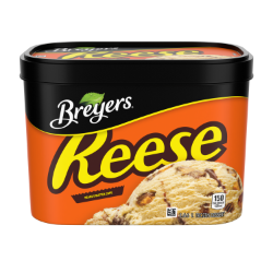 Breyers® REESE Peanut Butter Cups 1.66 L UPC