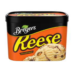 Breyers® REESE Peanut Butter Cups 1.66 L back of pack