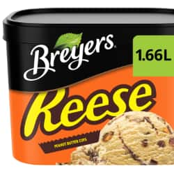Breyers® REESE Peanut Butter Cups 1.66 L French & English Hero Images