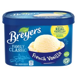 Breyers Classic French Vanilla 1.66 L front of pack