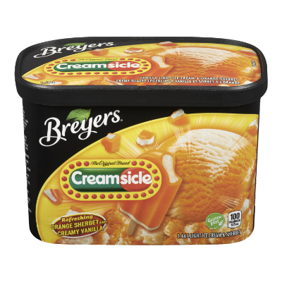 Breyers® Creamsicle® 1.66 L front of pack
