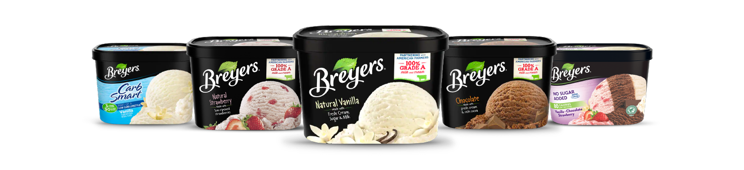 Find Your Favorite Breyers flavors!
