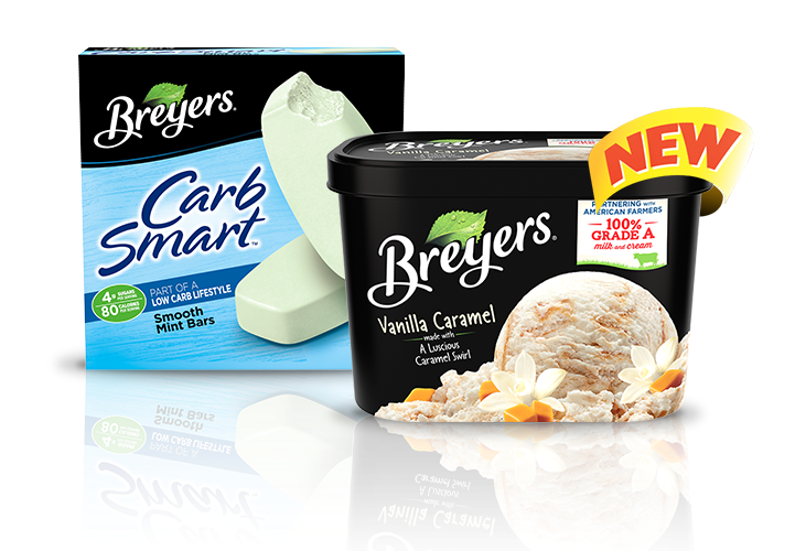 More reasons to love Breyers®!