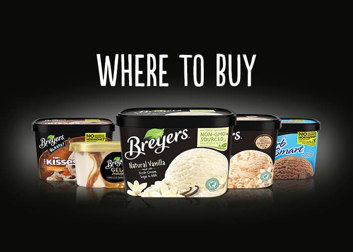 Find your favorite Breyers® flavors!