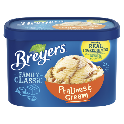 Breyers Classic Pralines & Cream 1.66 L front of pack