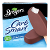 A 6 pack carton of Breyers® CarbSmart™ Vanilla Bar front of pack