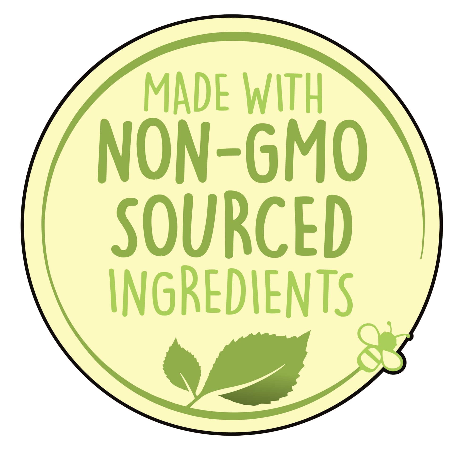 Made with Non-GMO sourced ingredients logo