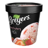 A 16 ounce tub of Breyers® Natural Strawberry simple pack image