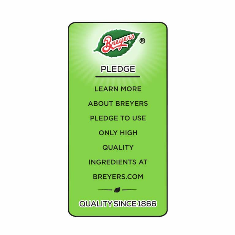 Breyers Pledge statement