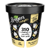 A 16 ounce tub of Breyers Delights Vanilla Cupcake front of pack